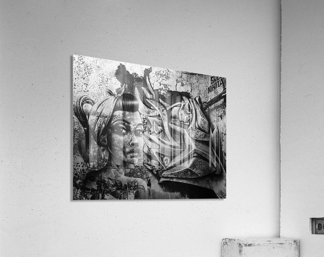 Art Graffiti  Acrylic Print