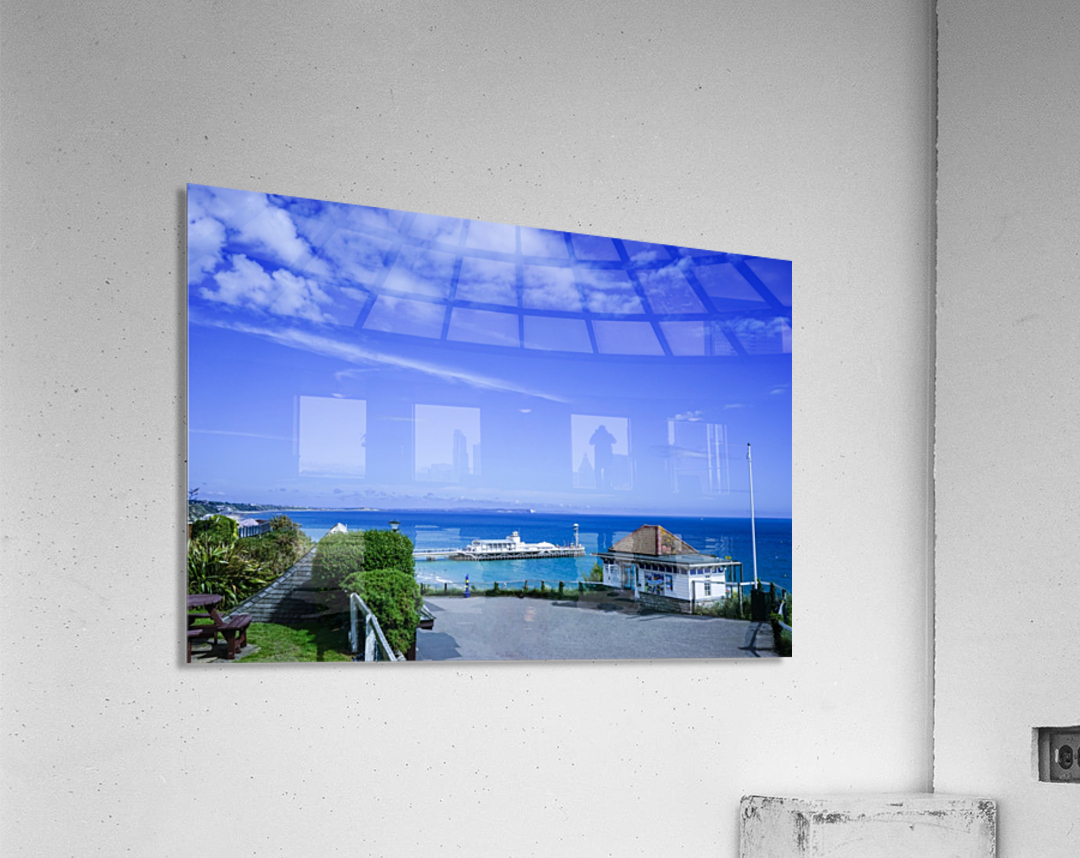 English Seaside Bournemouth  Acrylic Print