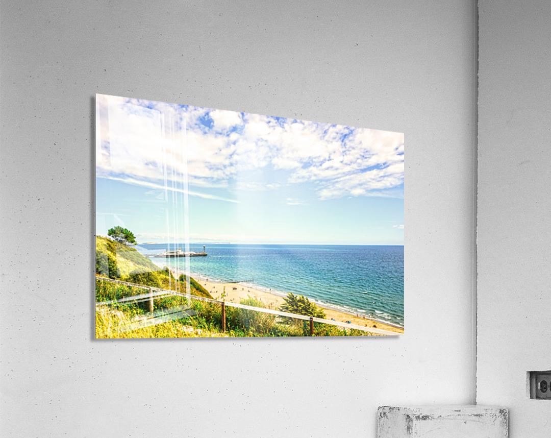 The Southern Coast of England  Acrylic Print