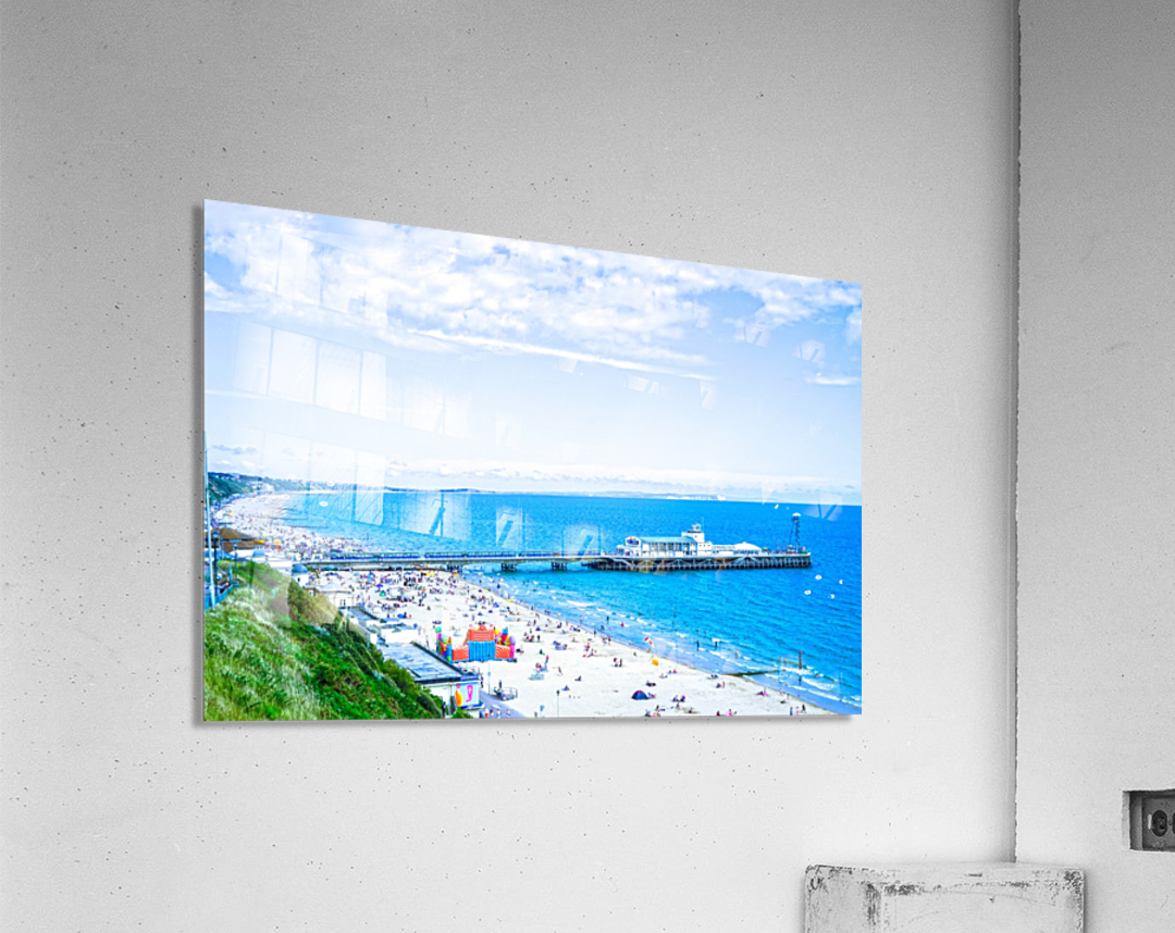 Snaphot in Time Bournemouth  Acrylic Print