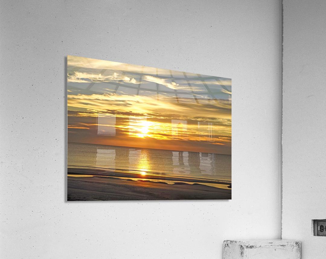 Carolina Sunrise  Acrylic Print