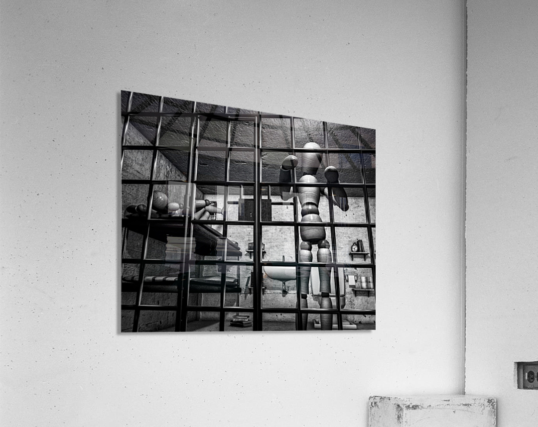 Cell Mates  Acrylic Print