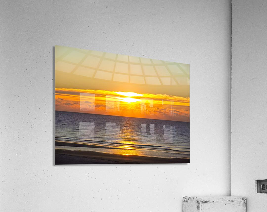 Blue Morning Sunrise  Acrylic Print