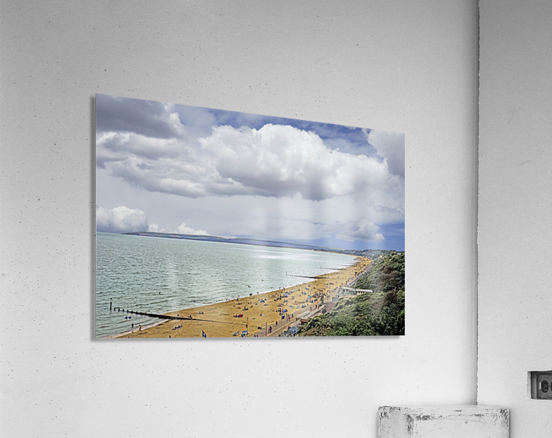 At the Beach in Southern England  Acrylic Print