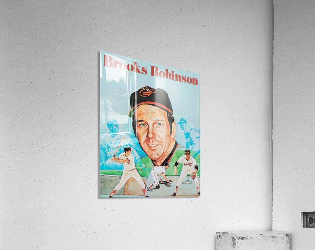 1974 Brooks Robinson Poster  Impression acrylique