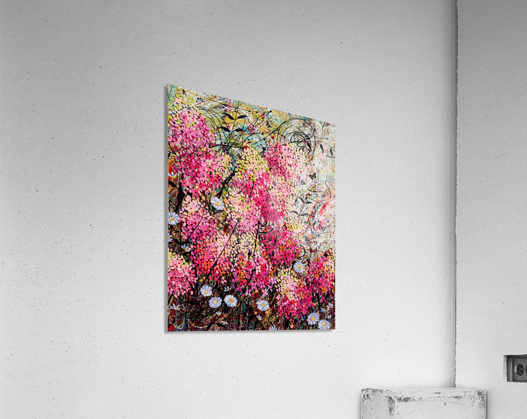 Strawberry Sundae Panel 1  Acrylic Print