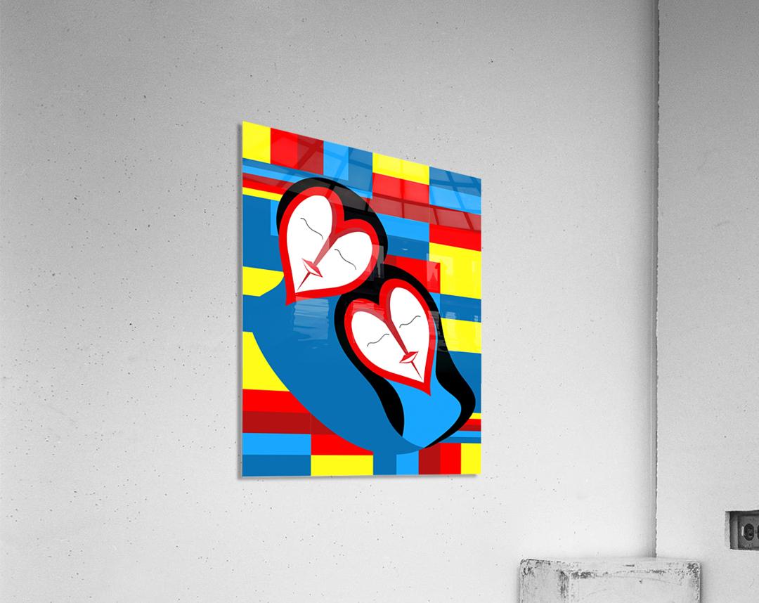 Hearts in Love  Acrylic Print