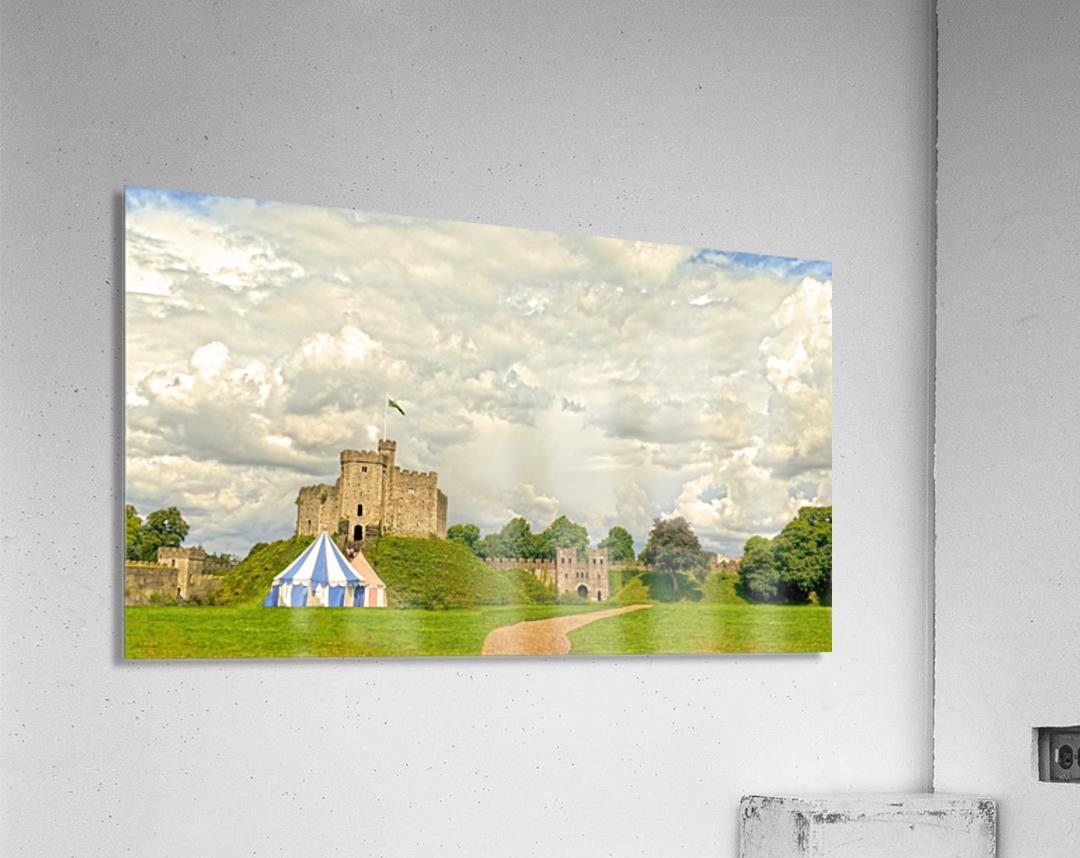 Cardiff Castle  Acrylic Print