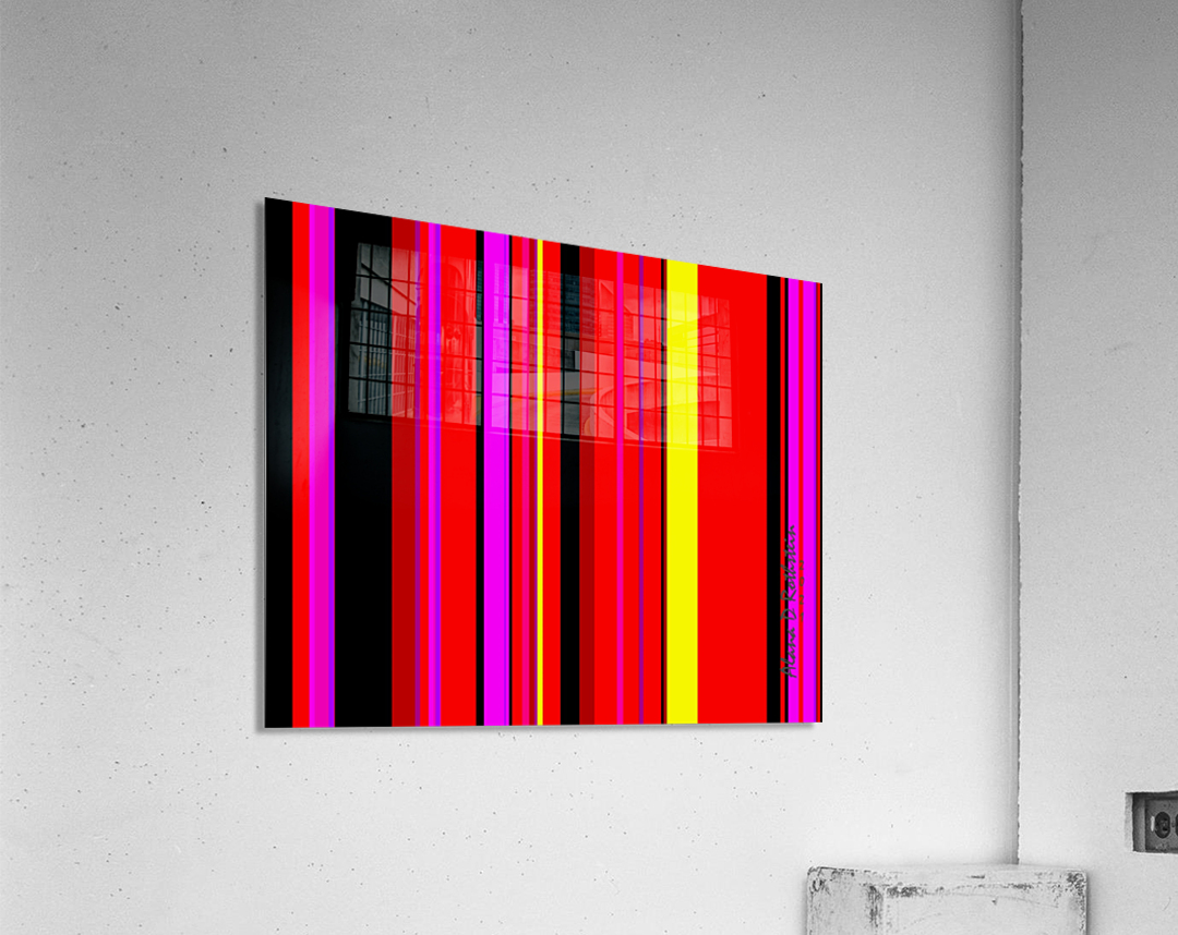 Color Bars 1  Acrylic Print