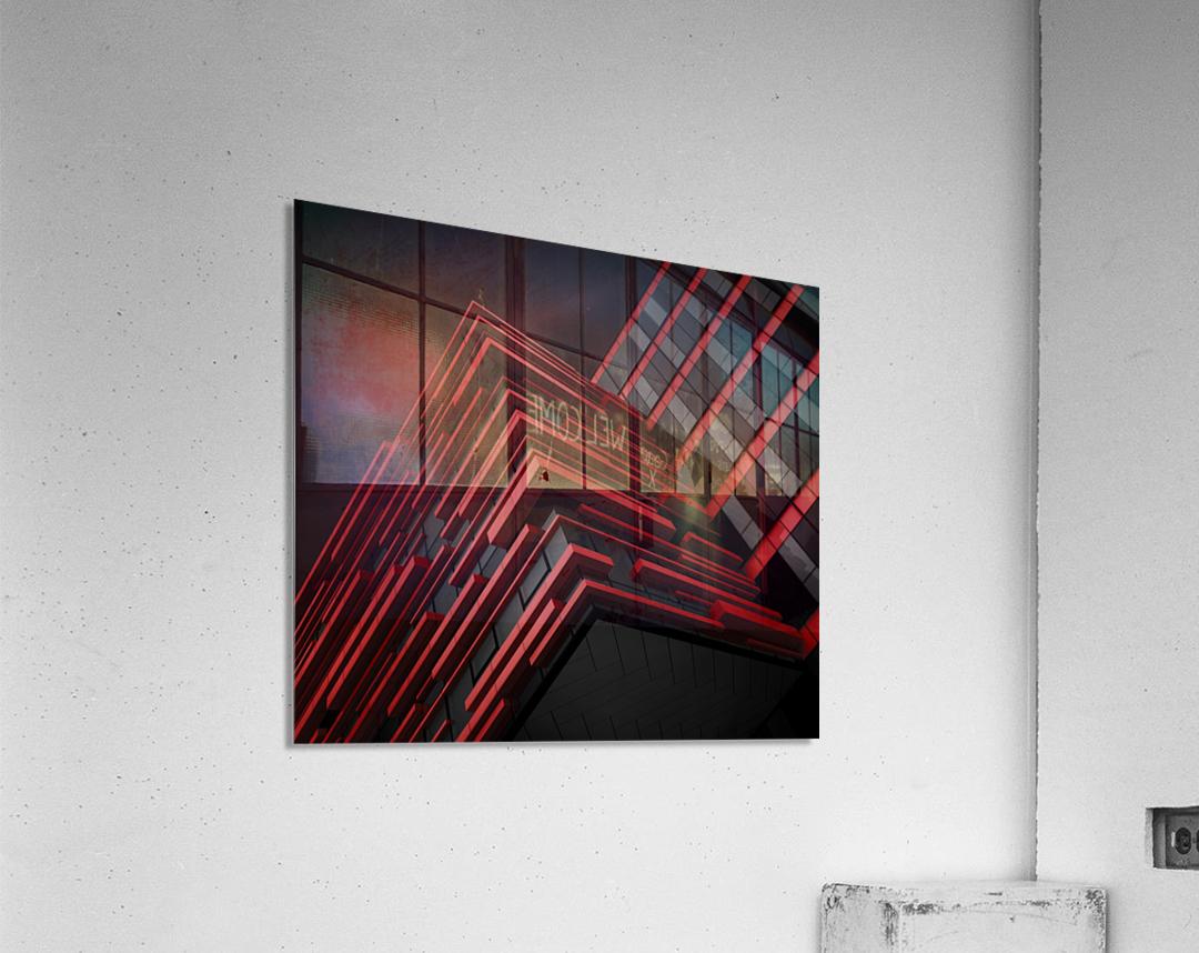 Blood Stream  Acrylic Print