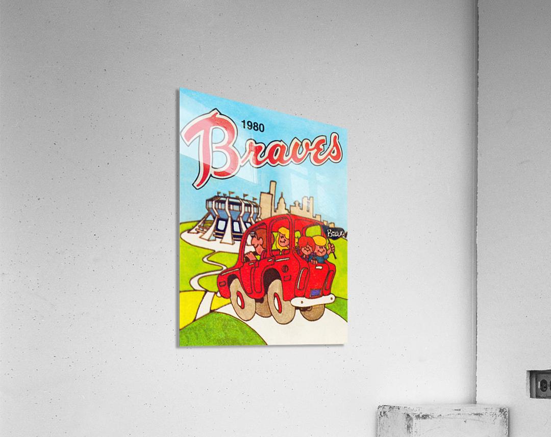 1980 Atlanta Braves Poster  Acrylic Print
