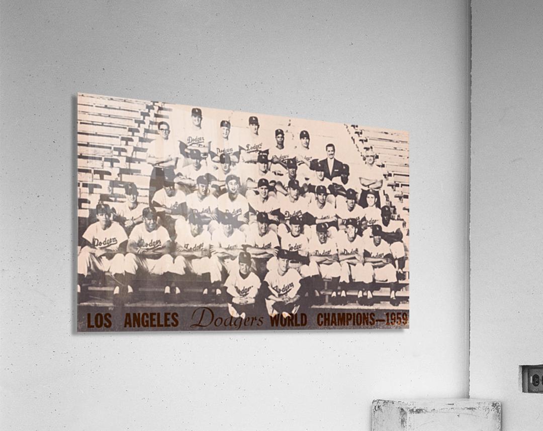 1959 Los Angeles Dodgers Team Photo  Acrylic Print