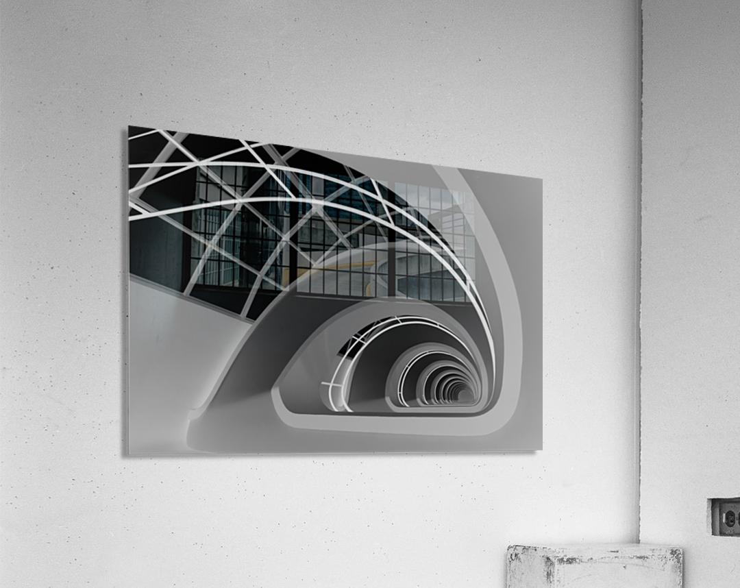 Antwerp-Stairs by jan niezen   Acrylic Print