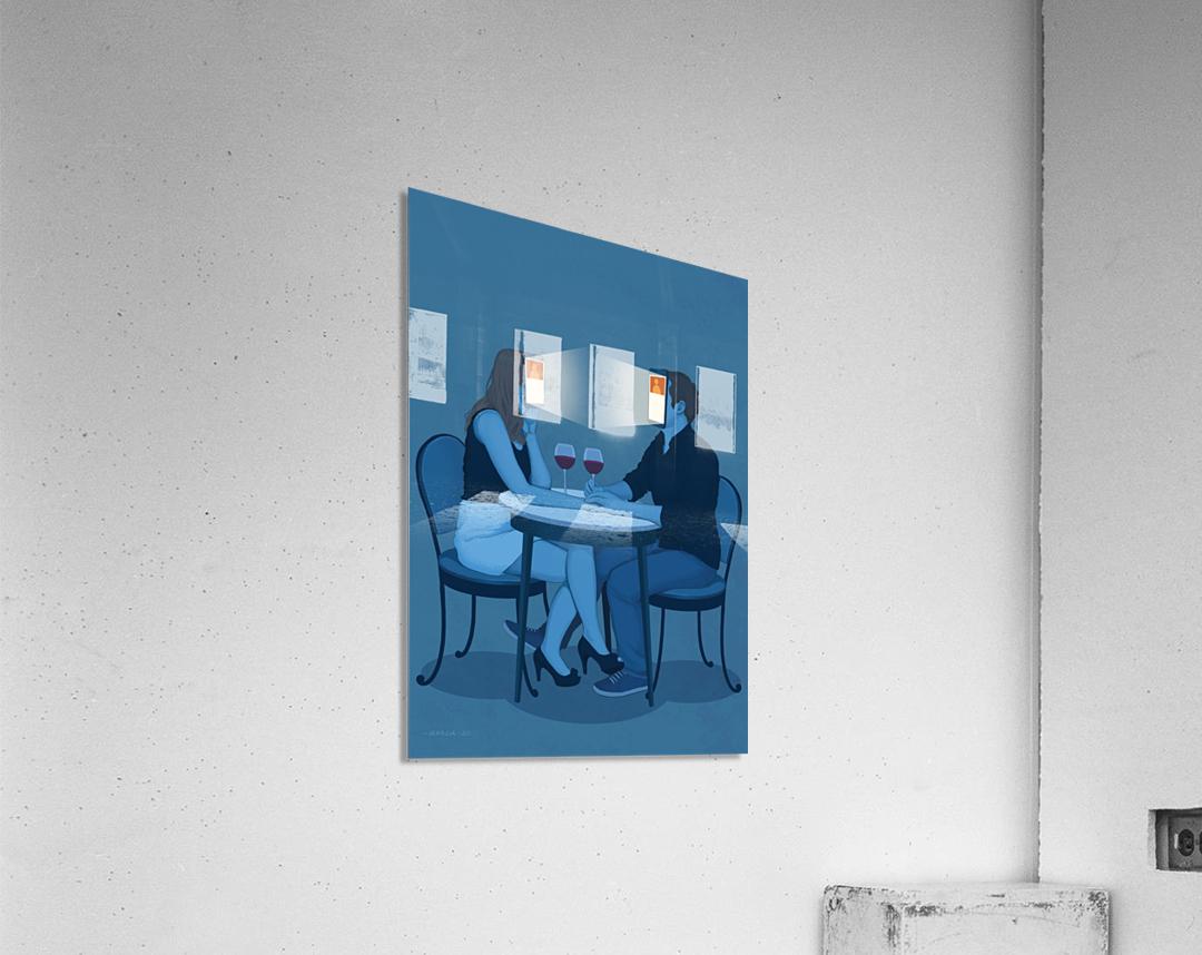 Online Dating  Acrylic Print