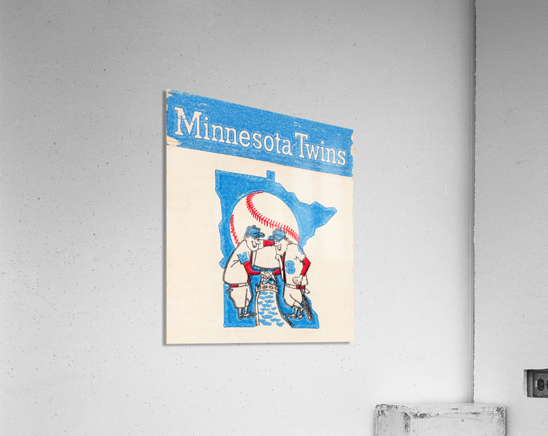 1967 Minnesota Twins Art  Acrylic Print