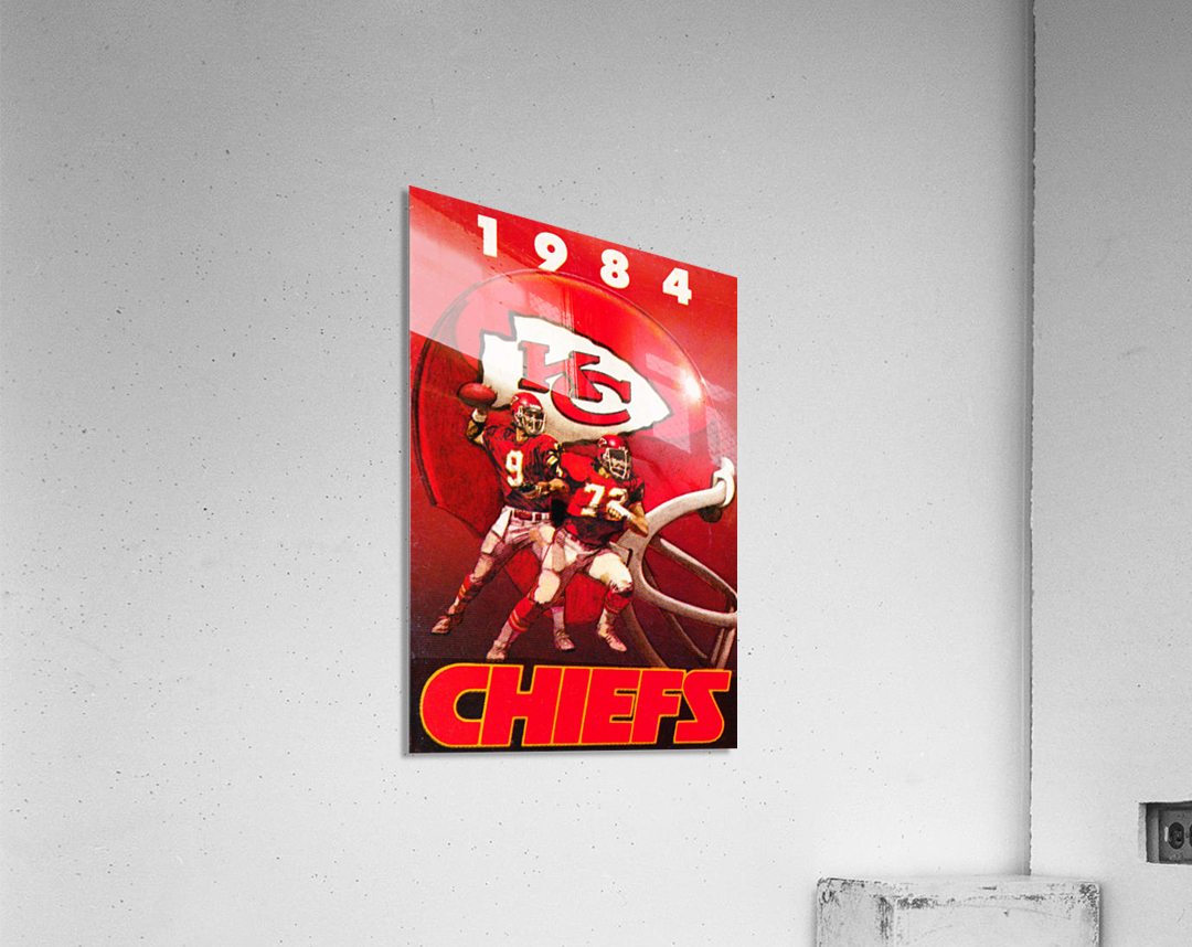 1984 Kansas City Chiefs Football Poster  Acrylic Print