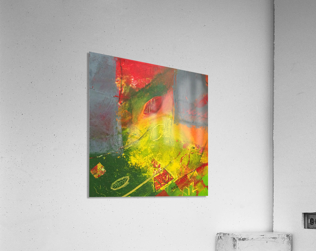 Songs_of_Autumn_Gold_Leaf  Acrylic Print