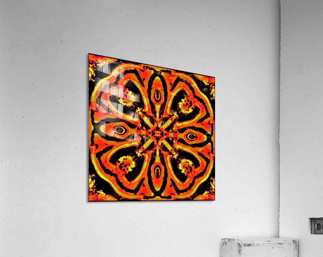 SOLAR  CROSS  269245   Acrylic Print