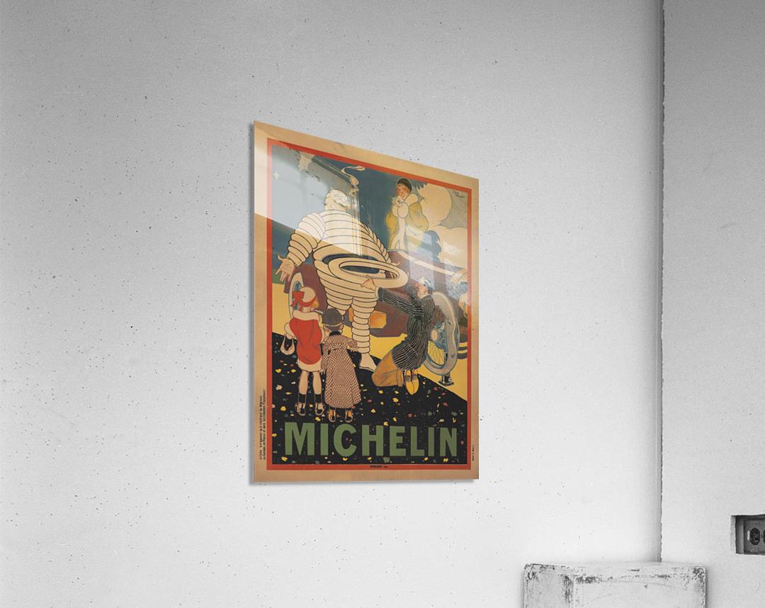Michelin Pneu  Acrylic Print