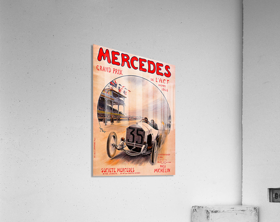 Mercedes Grand Prix  Acrylic Print