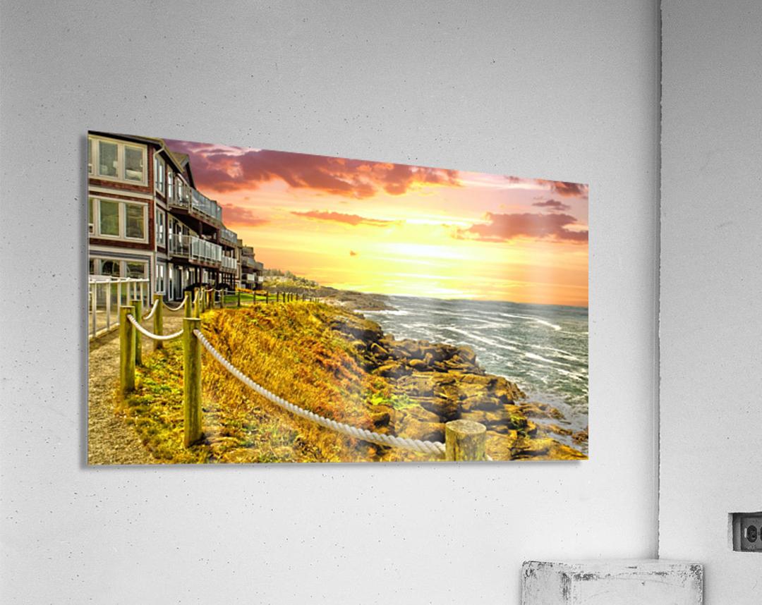 Depoe Bay On the Oregon Coast  Acrylic Print