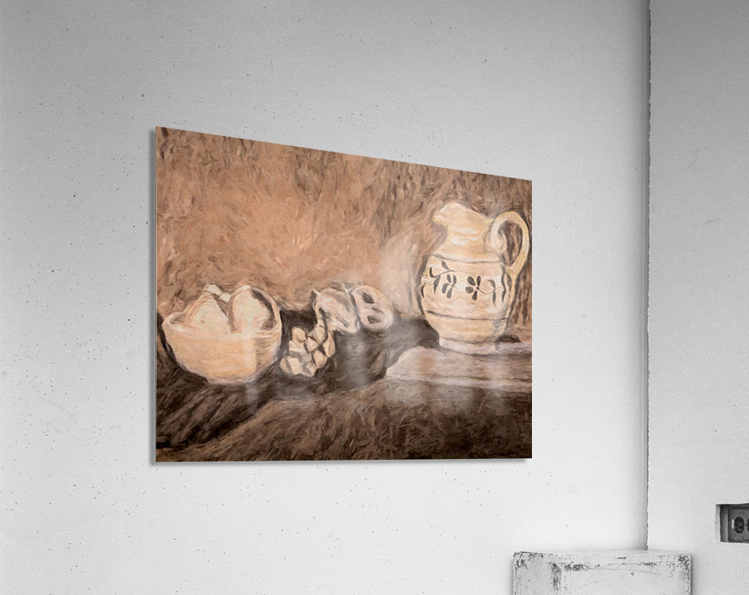 Fruit and Pitcher  Acrylic Print