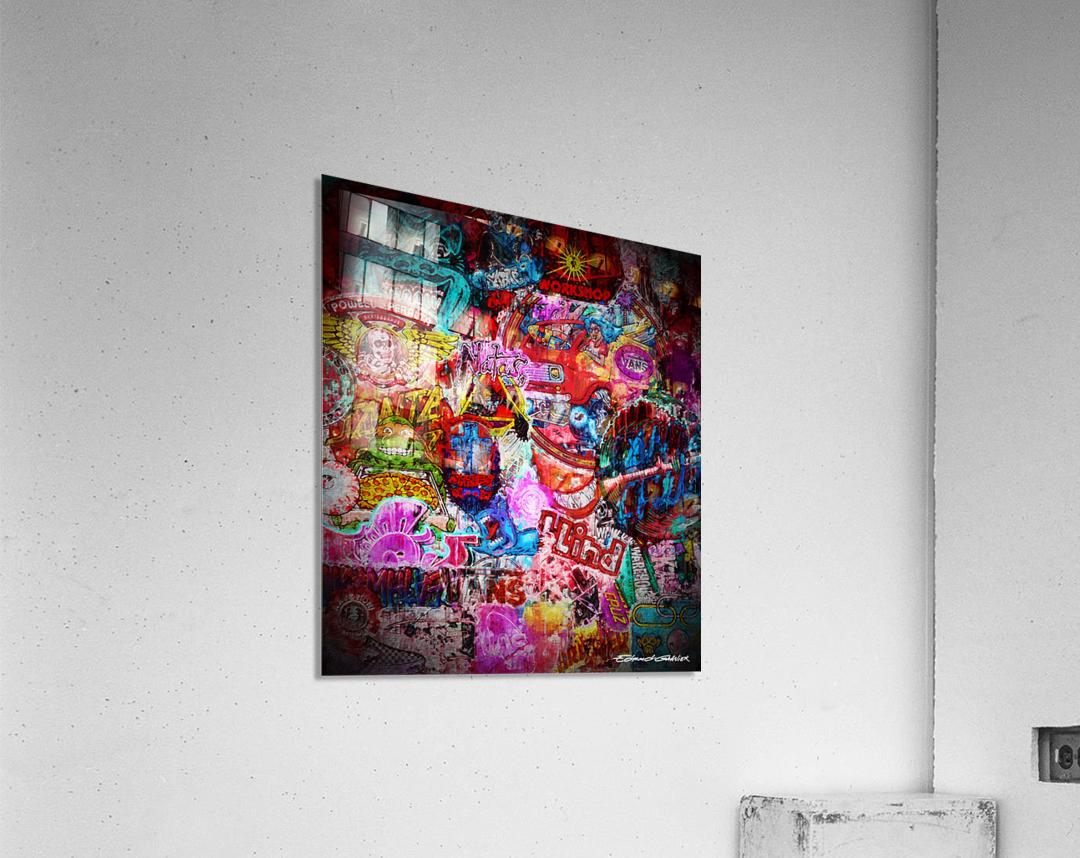 Big Street art   Acrylic Print