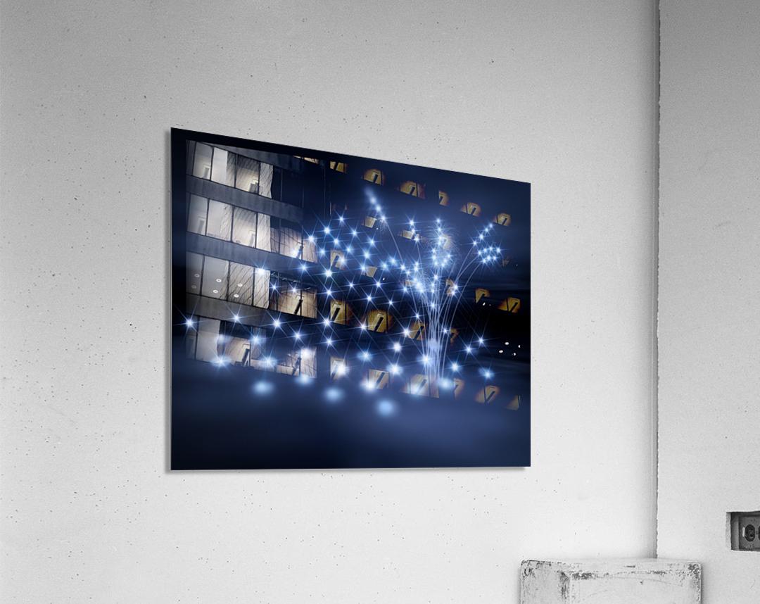 Sternenkinder stiller Ort der Seelen  Acrylic Print