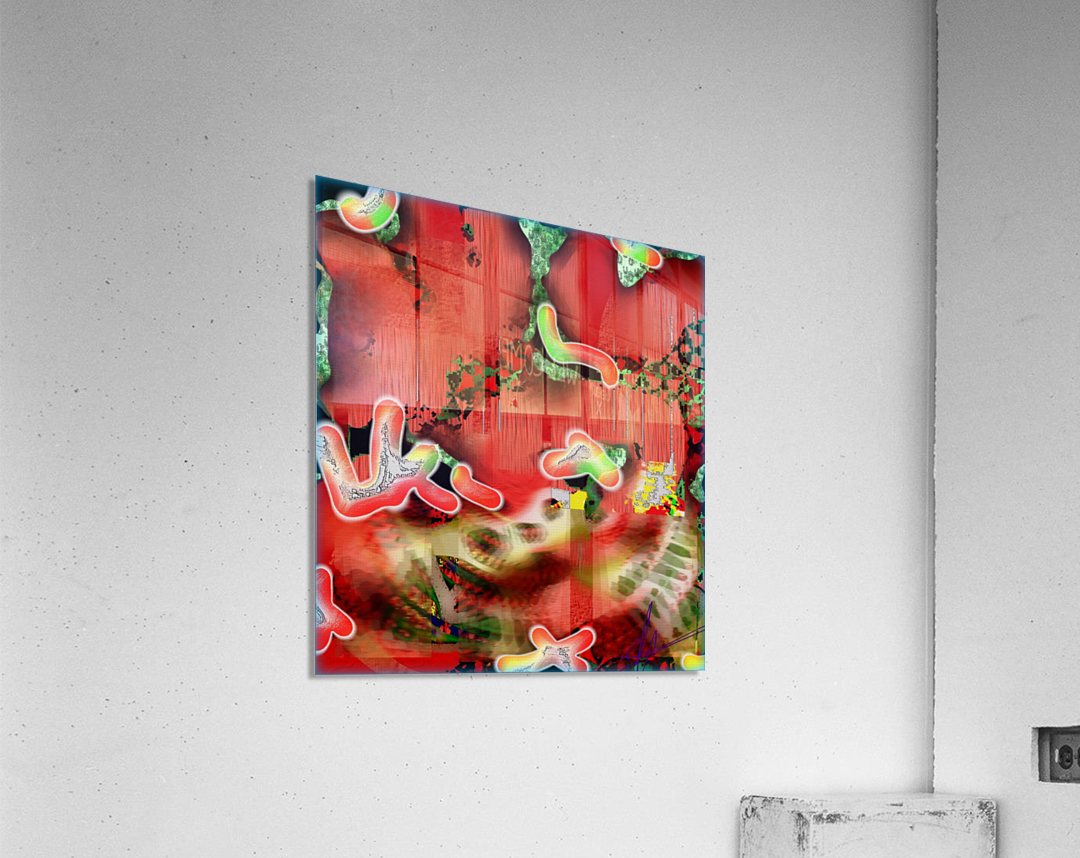 Residents of a Growling Stomach  Acrylic Print