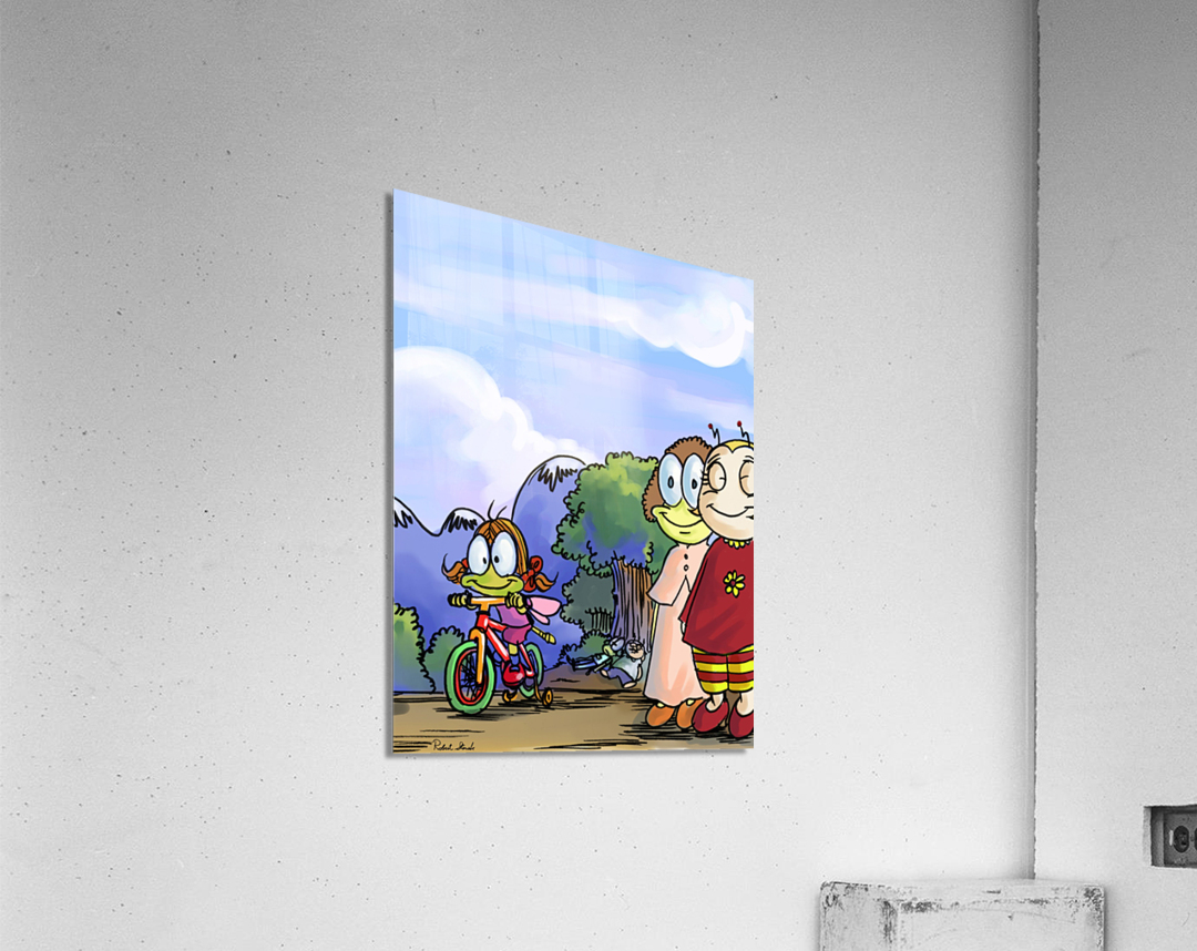 Moms and Dads  Acrylic Print