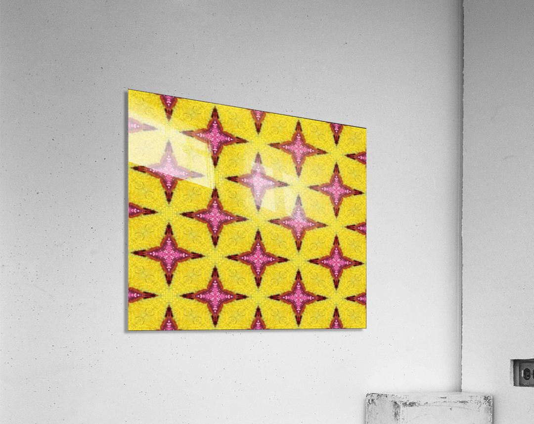 yellowpink  Acrylic Print