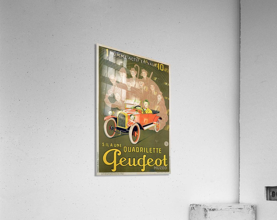 Quadrilette Peugeot  Acrylic Print