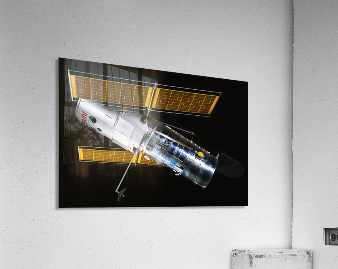 NASA Hubble Space Telescope Side - Outer Space Image  Acrylic Print