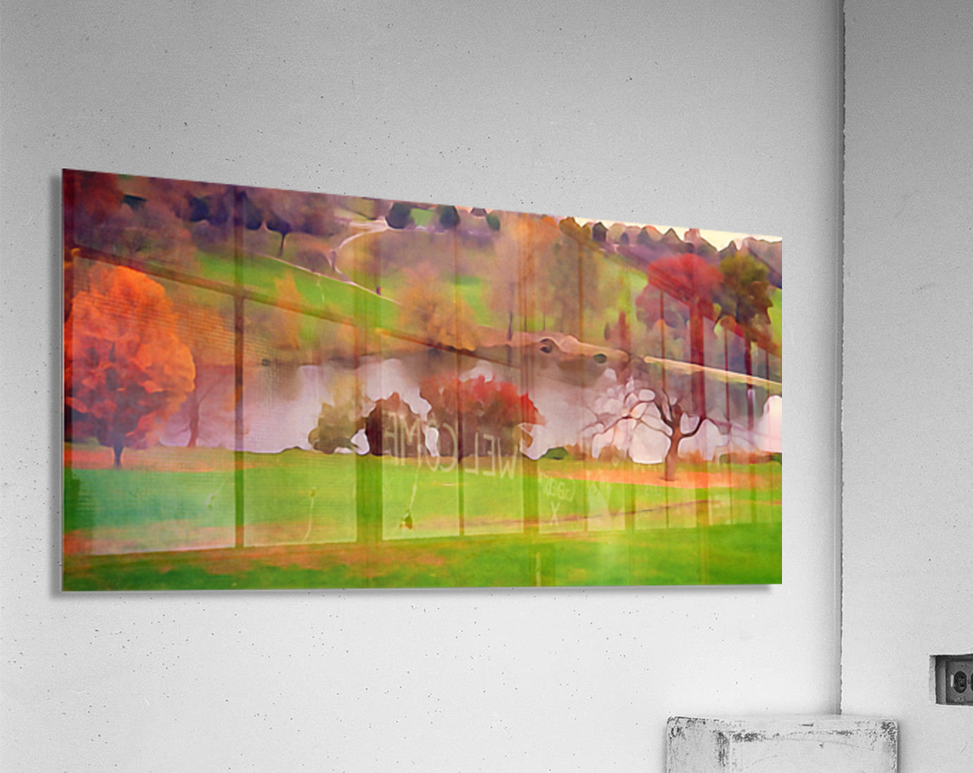 Fall Day at the University of Kansas  Acrylic Print