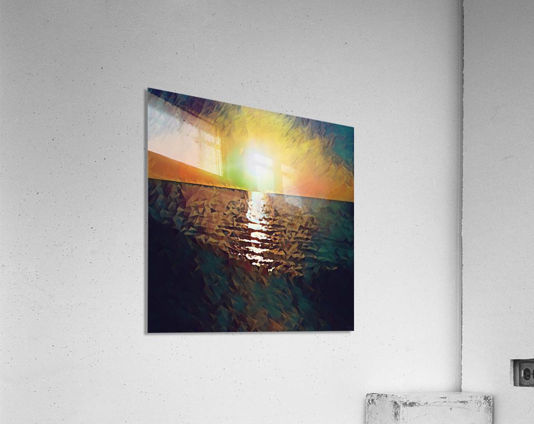 sunset art  Acrylic Print