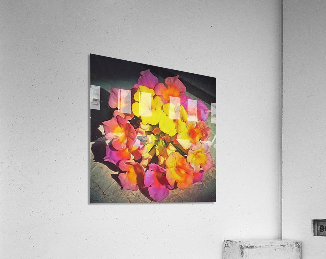 flowers art  Acrylic Print