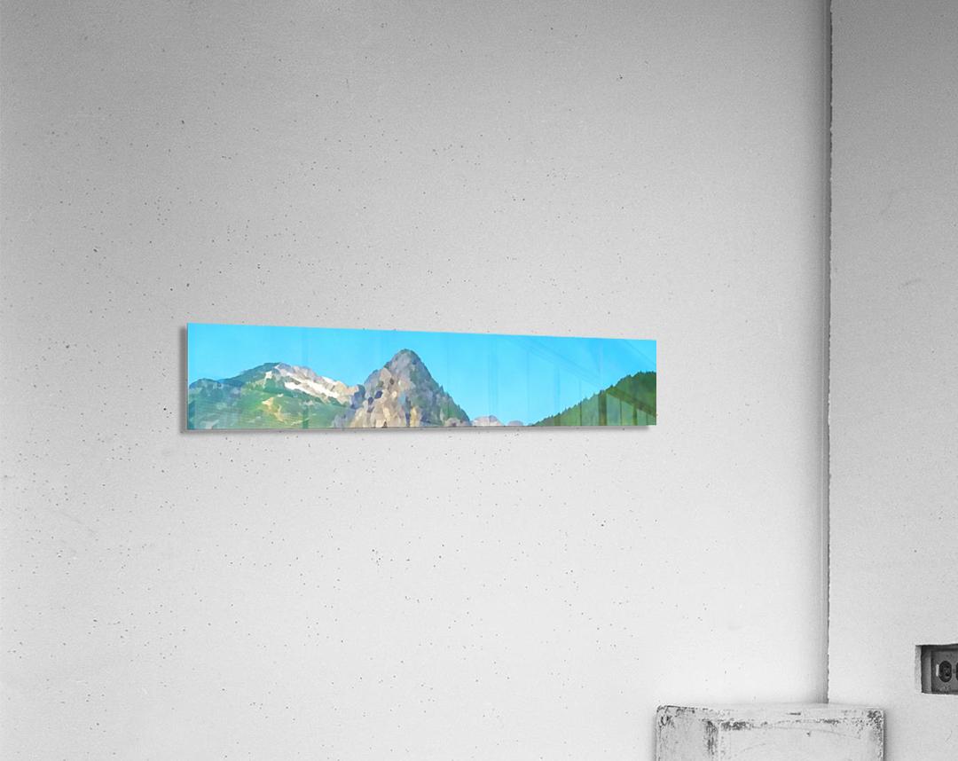 seattle mountains  Acrylic Print