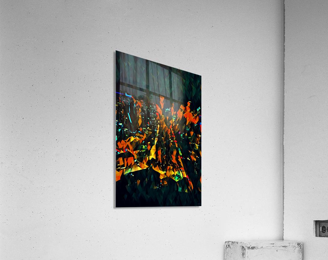 seattle at night  Acrylic Print