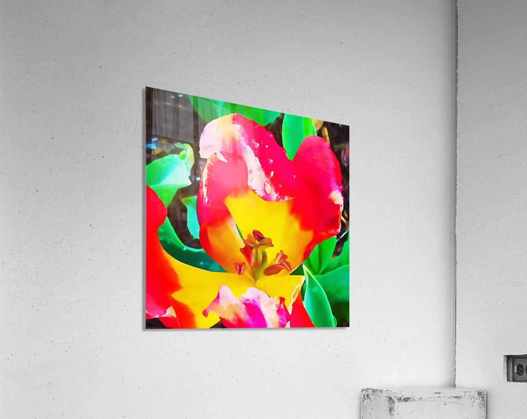 heart flower  Acrylic Print