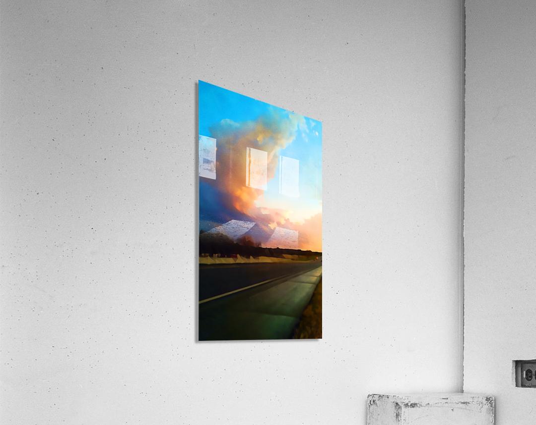 highway beauty  Acrylic Print