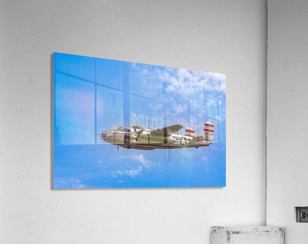 Panchito B25 In Flight  Acrylic Print