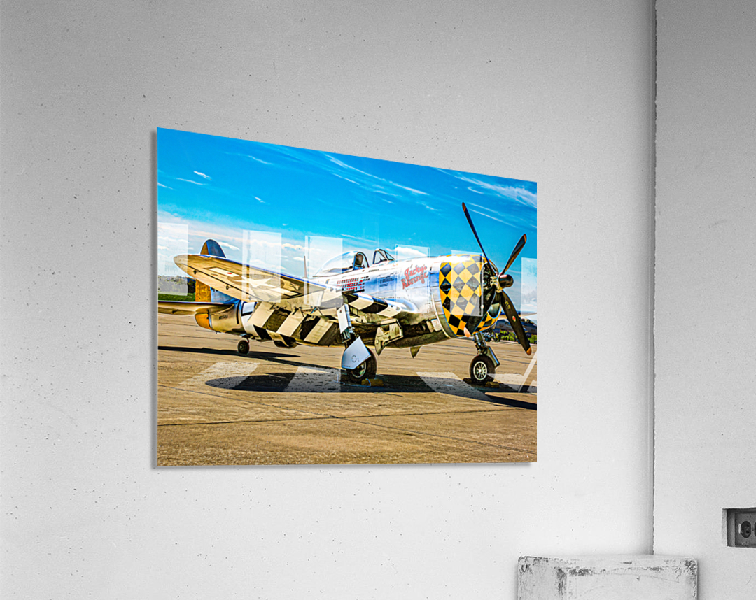 P 47D Thunderbolt  Acrylic Print