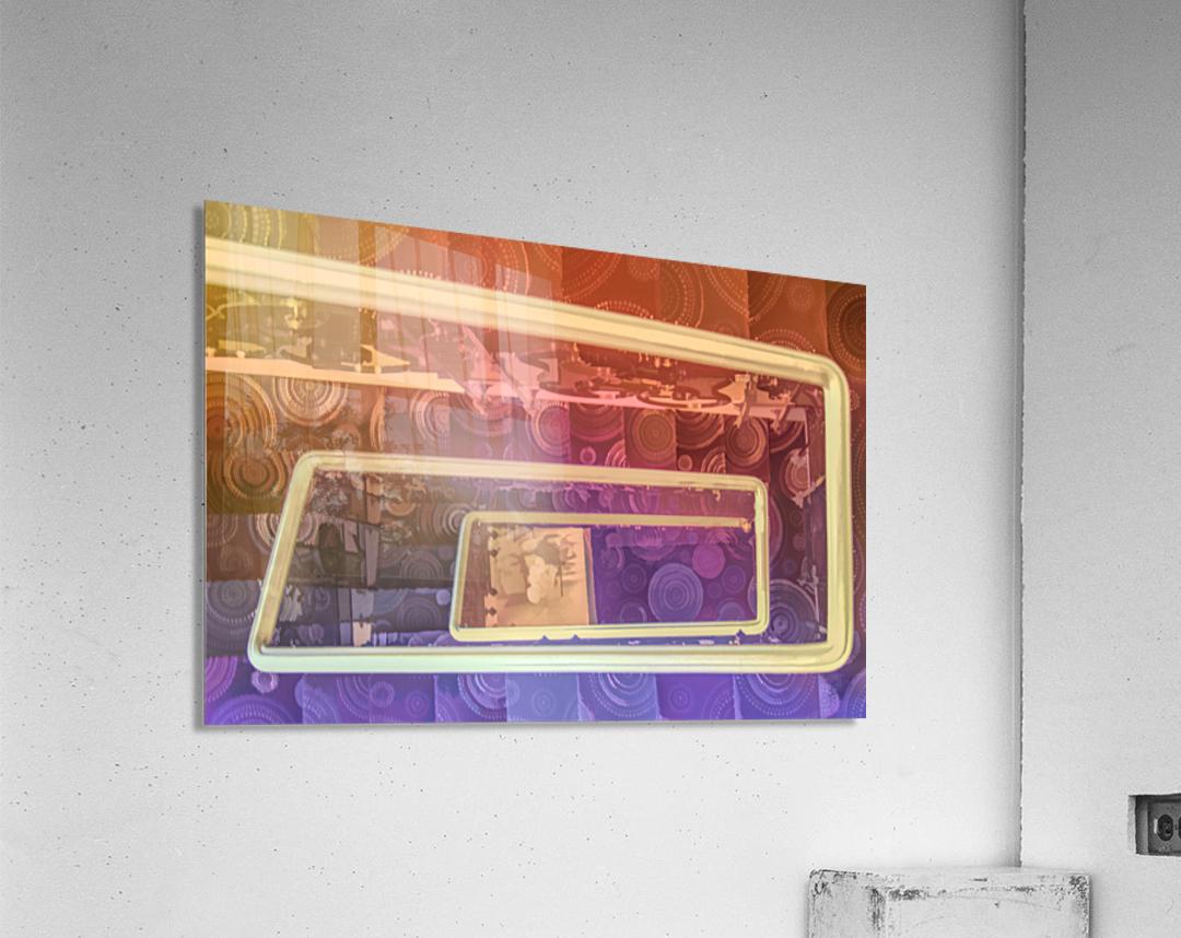 hotel stairway nice studio 6  Acrylic Print