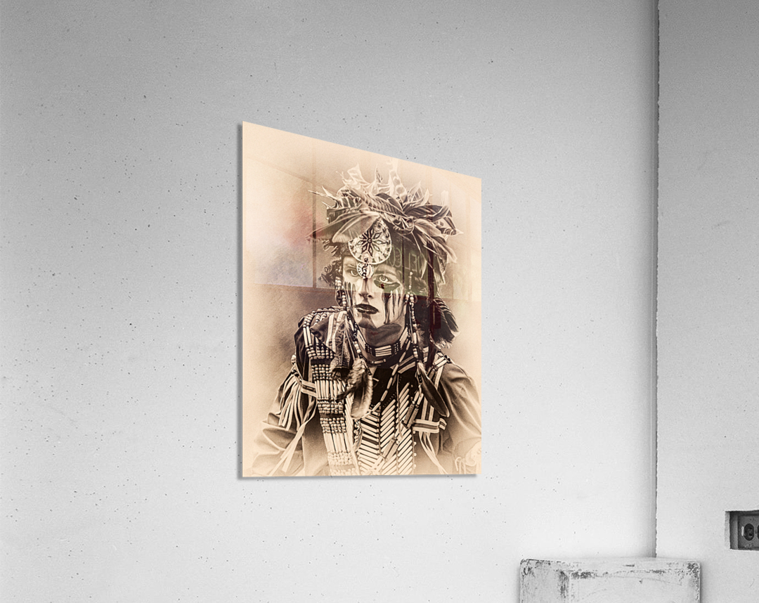 Native American 4  Acrylic Print