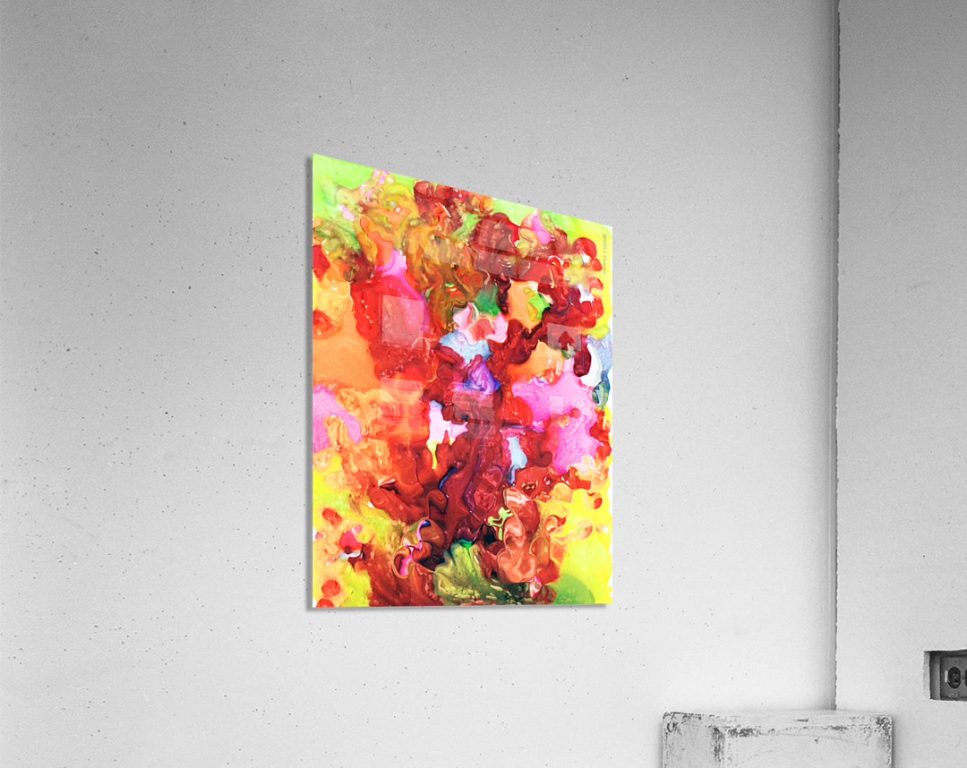 Clarity and Blur Midday  Acrylic Print