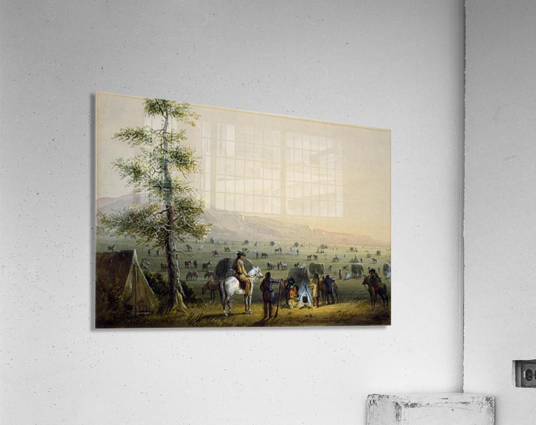 Our Camp  Acrylic Print
