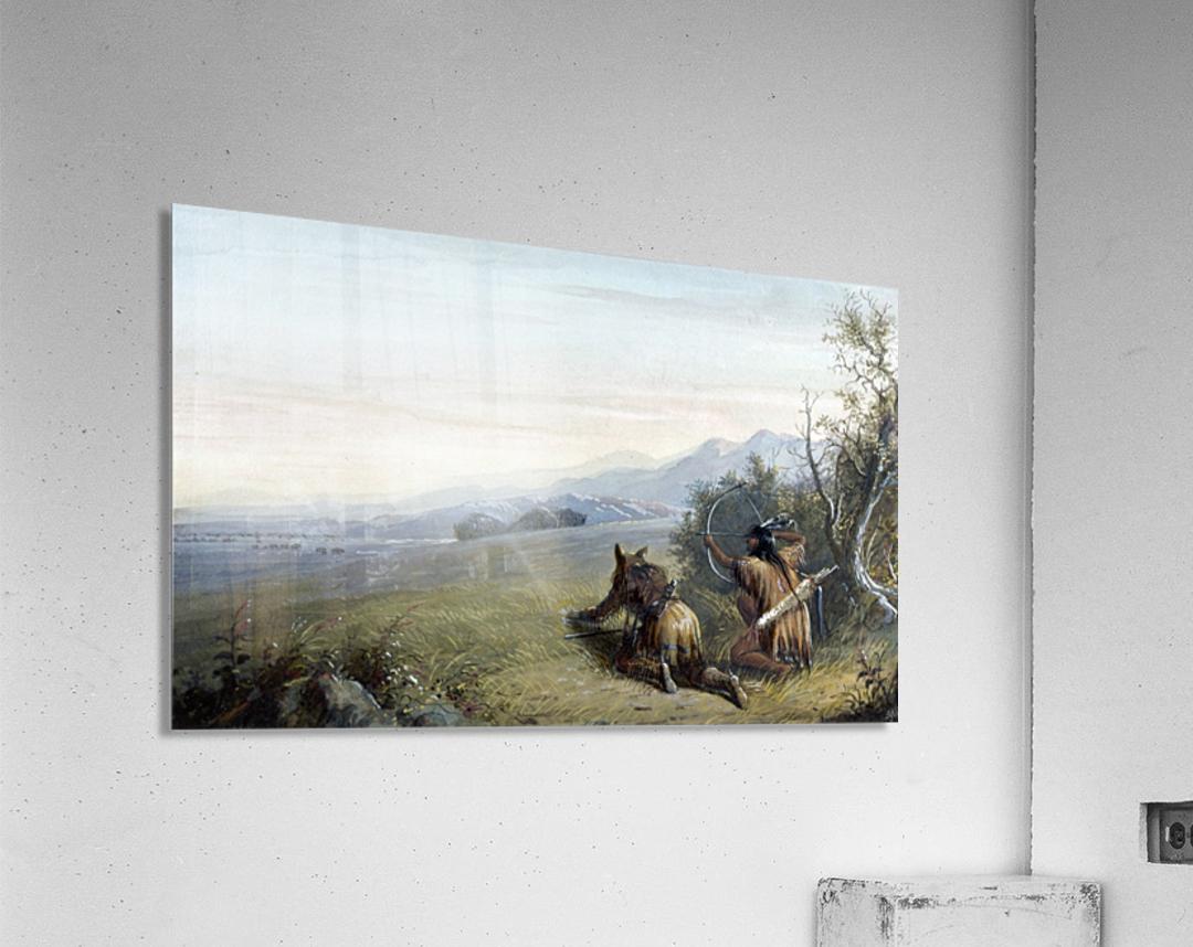 Indian hunters  Acrylic Print