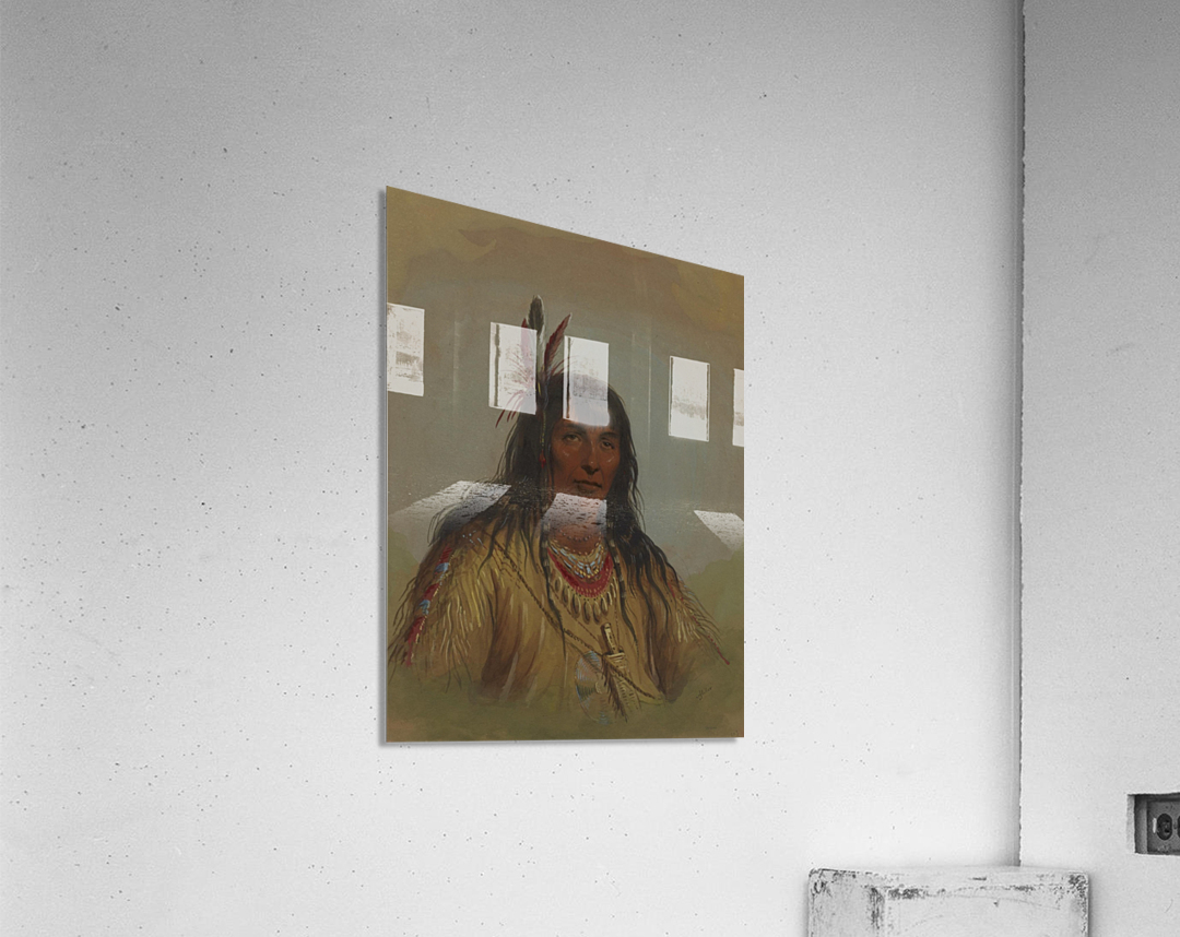 Bannock Indian  Acrylic Print