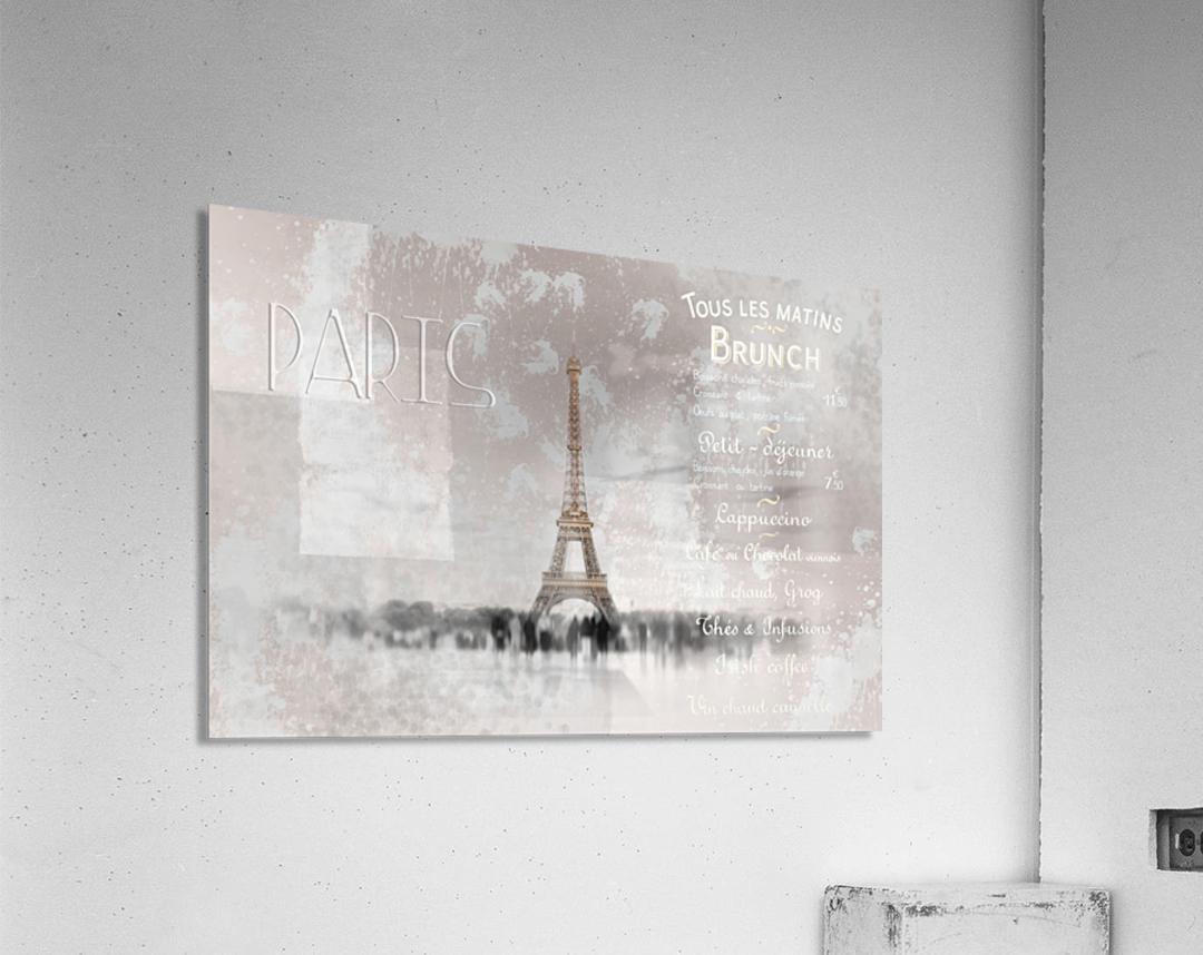Digital-Art Eiffel Tower II  Acrylic Print