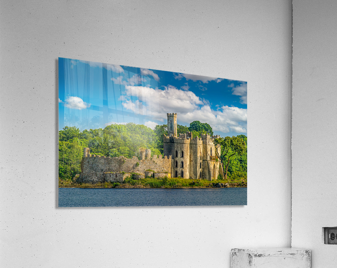 McDermott s Castle Ruins  Acrylic Print